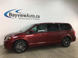 Used 2019 Dodge Grand Caravan GT - BLACKTOP! HTD LEATHER! STOW 'N GO! 3 ZONE CLIMATE! + MUCH MORE! for sale in Belleville, ON