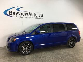 Used 2019 Dodge Grand Caravan GT - BLACKTOP! HTD LEATHER! STOW 'N GO! PWR DOORS & LIFTGATE! + MORE! for sale in Belleville, ON