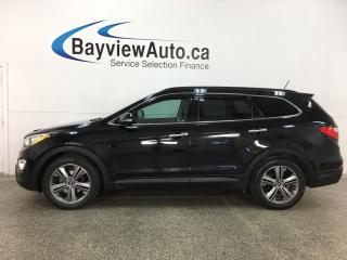 Used 2016 Hyundai Santa Fe XL Limited - AWD! PANOROOF! HTD/COOLED LTHR! NAV! + MUCH MORE! for sale in Belleville, ON