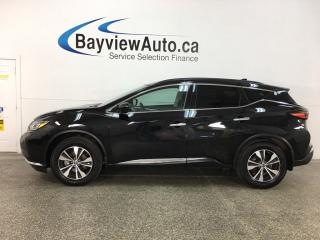 Used 2019 Nissan Murano SL - AWD! HTD SEATS! PANOROOF! NAV! ALLOYS! + MORE! for sale in Belleville, ON