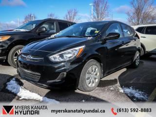 Used 2015 Hyundai Accent GL  - $84 B/W for sale in Kanata, ON