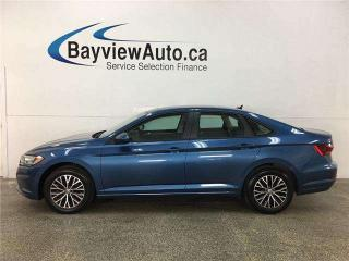 Used 2019 Volkswagen Jetta 1.4 TSI Highline - AUTO! HTD LEATHER! PANOROOF! ALLOYS! + MORE! for sale in Belleville, ON