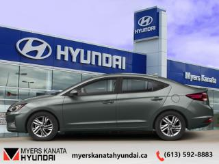 Used 2020 Hyundai Elantra Preferred IVT  - $129 B/W for sale in Kanata, ON