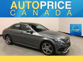 Used 2017 Mercedes-Benz C-Class SPORT PKG|NAVI|PANOROOF for sale in Mississauga, ON