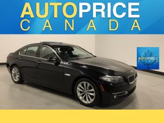 Used 2016 BMW 528 i xDrive MOONROOF|NAVIGATION|LEATHER for sale in Mississauga, ON