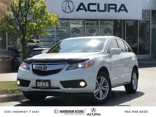 Used 2015 Acura RDX Tech at for sale in Markham, ON
