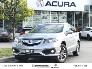 Used 2017 Acura RDX Elite at AWD, Parking Sensors, Power Liftgate for sale in Markham, ON