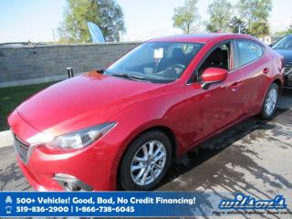 Used 2014 Mazda MAZDA3 GS-SKY - 6 Speed with New Tires! Sunroof, Bluetooth, Rear Camera, Heated Seats, & More! for sale in Guelph, ON
