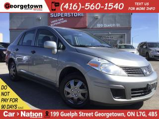 Used 2011 Nissan Versa 1.6S | POWER OPTIONS | A/C | CD | AUX IN | for sale in Georgetown, ON
