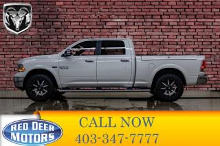 Used 2017 RAM 1500 4x4 CRew Cab Laramie Leather Roof Nav for sale in Red Deer, AB