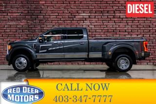 Used 2019 Ford F-450 4x4 Crew Cab Platinum Dually Diesel for sale in Red Deer, AB