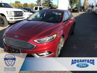 Used 2018 Ford Fusion Titanium Heated / Cooled Seats - Remote Keyless Entry for sale in Calgary, AB