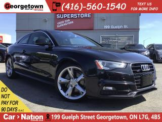 Used 2013 Audi A5 2.0T Premium Plus|S LINE |6 SPEED|NAVI|SUNROOF|AWD for sale in Georgetown, ON