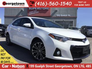 Used 2015 Toyota Corolla S | SUNROOF | BACK UP CAM | HEATED SEATS | for sale in Georgetown, ON
