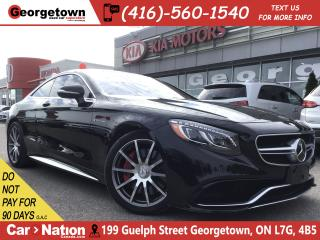 Used 2016 Mercedes-Benz S-Class 63 4MATIC|ONE OWNER|CLEAN CARFAX|COUPE|38,773KM for sale in Georgetown, ON