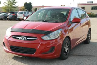 Used 2012 Hyundai Accent GL CERTIFIED for sale in Waterloo, ON