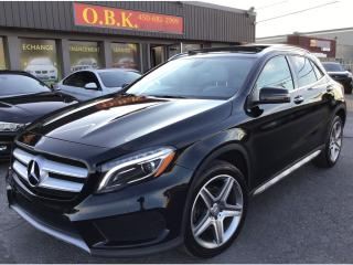 Used 2016 Mercedes-Benz GLA 4MATIC-NAVIGAITON-TOIT PANORAMIQUE-CAM RECUL- for sale in Laval, QC