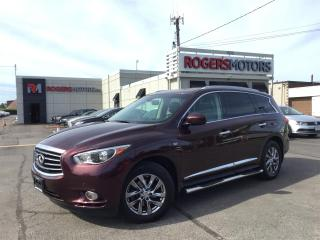 Used 2015 Infiniti QX60 AWD - 7 PASS - NAVI - SUNROOF - LEATHER for sale in Oakville, ON