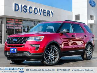 Used 2018 Ford Explorer SPORT for sale in Burlington, ON