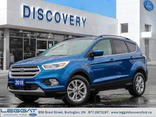 Used 2018 Ford Escape SEL for sale in Burlington, ON