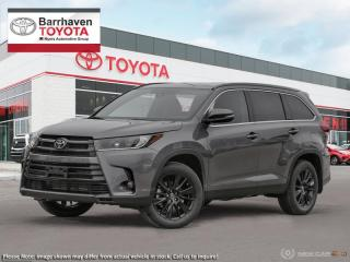 Used 2019 Toyota Highlander XLE AWD SE Package  - SE Package - $305 B/W for sale in Ottawa, ON