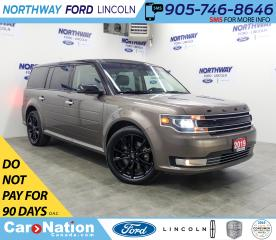 Used 2019 Ford Flex Limited | AWD | NAV | LEATHER | 3 ROWS for sale in Brantford, ON