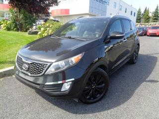 Used 2012 Kia Sportage SX AWD (A6) * CUIR * TOIT *DÉMAREUR * for sale in Ste-Julie, QC