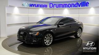 Used 2014 Audi A5 TECHNIK QUATTRO + S-LINE + NAVI + BANG ! for sale in Drummondville, QC