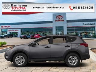 Used 2015 Toyota RAV4 LE  - Bluetooth - $142 B/W for sale in Ottawa, ON