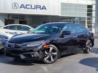 Used 2016 Honda Civic Touring TOURING | 1OWNER | APPLECARPLAY | NAVI | LEATHER for sale in Burlington, ON
