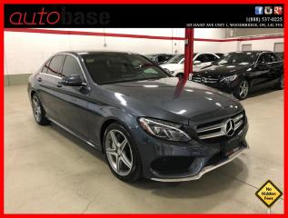Used 2016 Mercedes-Benz C-Class C300 4MATIC PREMIUM SPORT ACTIVE LED for sale in Vaughan, ON