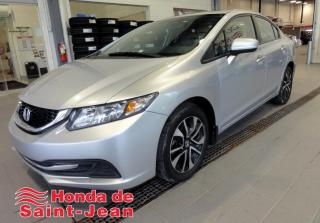 Used 2015 Honda Civic EX 4 portes, Automatique Toit Camera Mag for sale in St-Jean-Sur-Richelieu, QC