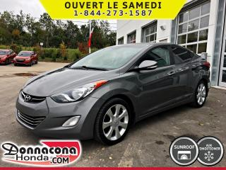Used 2012 Hyundai Elantra Limited * CUIR, TOIT, MAGS, CRUISE* for sale in Donnacona, QC