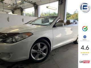 Used 2004 Toyota Camry SOLARA SLE CONVERTIBLE | 29 000KM for sale in St-Hyacinthe, QC