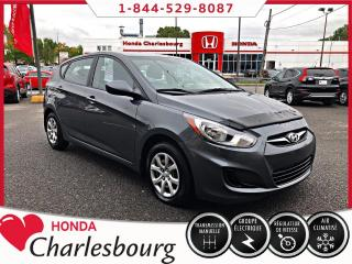 Used 2012 Hyundai Accent GL **HATCHBACK**UN PROPRIÉTAIRE** for sale in Charlesbourg, QC