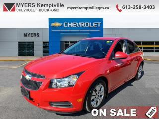 Used 2014 Chevrolet Cruze 0  LOW ;LOW MILEAGE  INCREDIBLE SHAPE ! THIS HAS BEEN LOVED for sale in Kemptville, ON