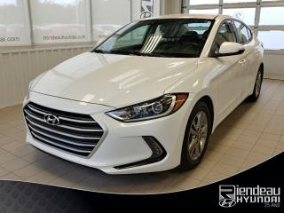 Used 2018 Hyundai Elantra GL+ APPLE CARPLAY / ANDROID + A/C for sale in Ste-Julie, QC