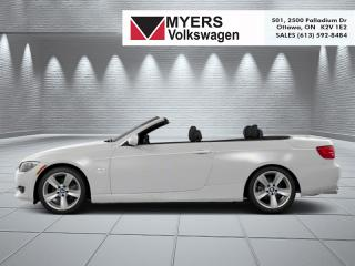 Used 2013 BMW 3 Series Cabriolet  - Low Mileage for sale in Kanata, ON