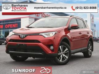 Used 2017 Toyota RAV4 XLE  - Sunroof -  Heated Seats - $169 B/W for sale in Ottawa, ON