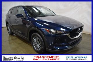Used 2017 Mazda CX-5 GS +Cuir, Bluetooth, Aucun Carfax+ for sale in Cowansville, QC
