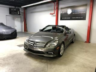 Used 2011 Mercedes-Benz E-Class E550, CABRIOLET, AUTOMATIQUE, NAVIGATION for sale in Montréal, QC