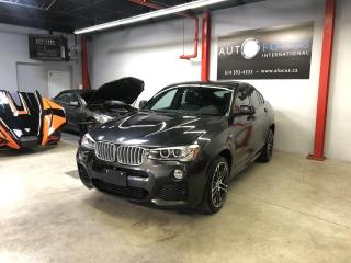 Used 2015 BMW X4 35i M SPORT Xdrive, NAVI., TOIT PANO., C for sale in Montréal, QC