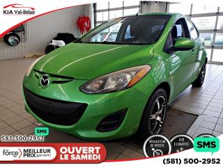 Used 2011 Mazda MAZDA2 *GS*AIR*CRUISE*BLUETOOTH*LECTEUR CD* for sale in Québec, QC