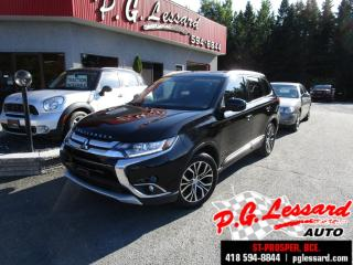 Used 2017 Mitsubishi Outlander Es touring awc 4x4 7 passagers camera siege chauffant for sale in St-Prosper, QC