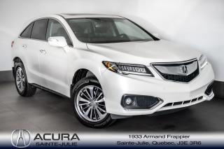Used 2017 Acura RDX ELITE PKG avec Garantie prolongé for sale in Ste-Julie, QC