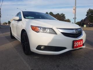 Used 2013 Acura ILX Premium Pkg-SUNROOF-BK UP CAM-LEATHER-AUX-ALLOYS for sale in Scarborough, ON