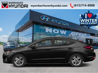 New 2020 Hyundai Elantra Preferred w/Sun & Safety Package IVT  - $137 B/W for sale in Nepean, ON