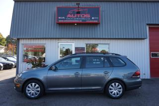 Used 2012 Volkswagen Golf Wagon TRENDLINE 2.5 AUTOMATIQUE FULL ÉQUIPÉ 100 405 KM for sale in Lévis, QC