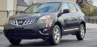 Used 2013 Nissan Rogue Certified SV 2 yrs Warranty Sunroof Alloys SV for sale in Mississauga, ON