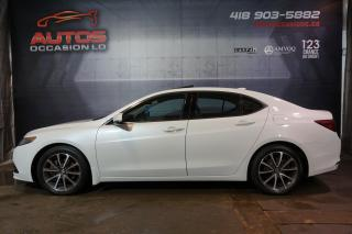 Used 2015 Acura TLX SH-AWD V6 TECH PACKAGE CUIR TOIT GPS NAV 97 804 KM for sale in Lévis, QC